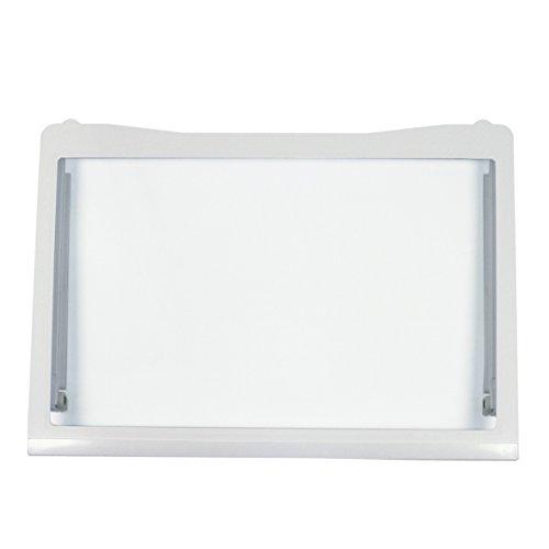 LG Electronics ACQ32537303 ORIGINAL Glasplatte Glasboden Abstellplatte Einlegeboden 500x350 mm Kühlschrank u.a. für GR-B459BAGZ.AAVQLGD GR-B459BNFW.ASTQLGD