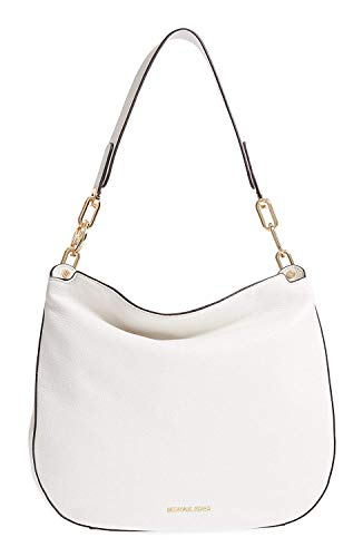 Michael Kors Large Fulton Hobo Bag - Optic White