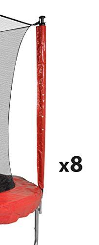 JUMP4FUN - Cama elástica para exterior, funda de protección contra los rayos UV, cama elástica de jardín, todos los tamaños
