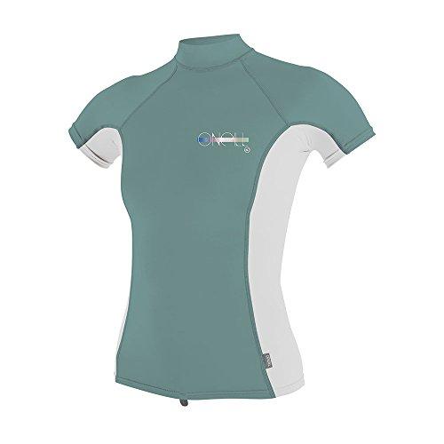 ONeill Womens T-shirt met korte mouw coltrui Aqu