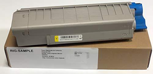 Oki ES6412 Toner - Gelb - 6.000 Seiten A4 (EIN/ISO) - Code SAP Oki: 46507513 - Rebuilt - Wiederaufbereitet
