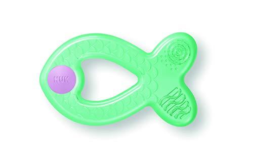 NUK 10256450 Extra Cool Beißring mit Kühl- und Massageeffekt, ab 3 Monaten, 1 stück, mehrfarbig