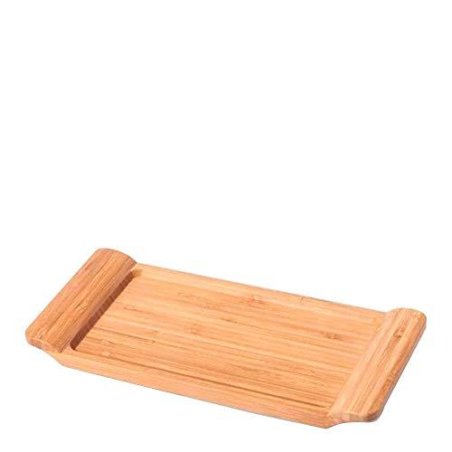 Bandeja Em Bambu Para Servir Welf 28x13cm
