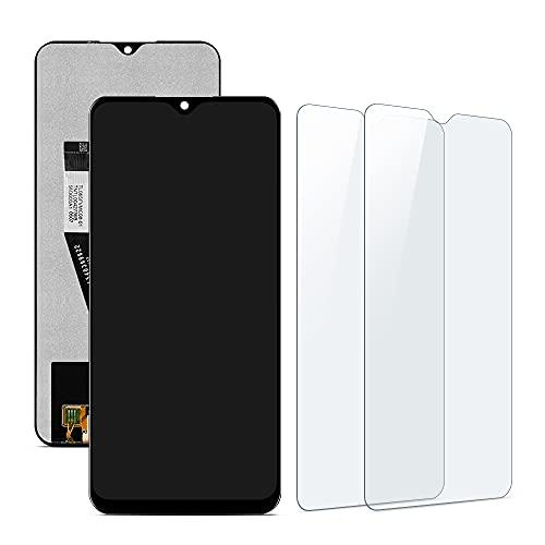 SHANCHU Compatible con Xiaomi Redmi 9 Pantalla LCD Táctil Reemplazo con Cristal Templado [Pack de 2]