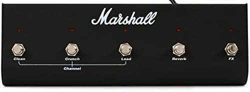 Pedale effetto per chitarra elettrica Marshall PEDL10021 Footswitch 5 vie (Chorus / Reverb) per TSL100