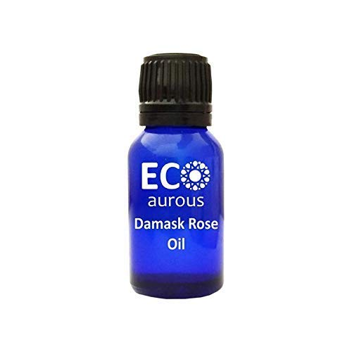 Damask Rose oil 100% Natural, Organic, Vegan & Cruelty free Damask Rose Essential Oil By Eco Aurous (100 ml)