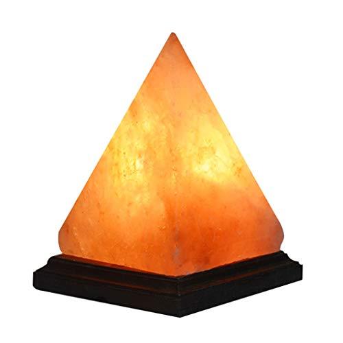 Luminaires & Eclairage/Luminaires intérieur/EC Pyramid sel Lamp Triangle Salt Lamp Home Night Light Petite Lampe de Table pour Enfants Santé Lampe de sel (Color : Blanc, Size : 14.5 * 14.5 * 20cm)