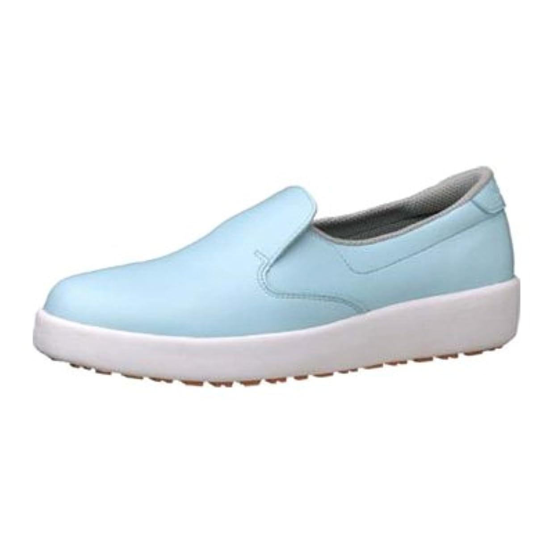 リベラル認めるトレースミドリ安全 ハイグリップ作業靴 H-700N 22cm <ブルー>