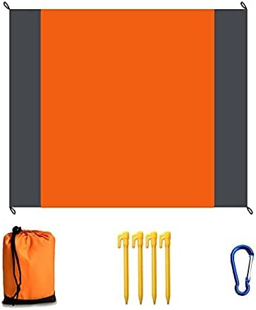 discount KeZhong Waterproof and Moisture-Proof mat online sale for new arrival Outdoor Camping, Picnic mat for Beach, Moisture-Proof mat for Lawn, 2.02.1m, Pocket Folding, Easy to Carry sale
