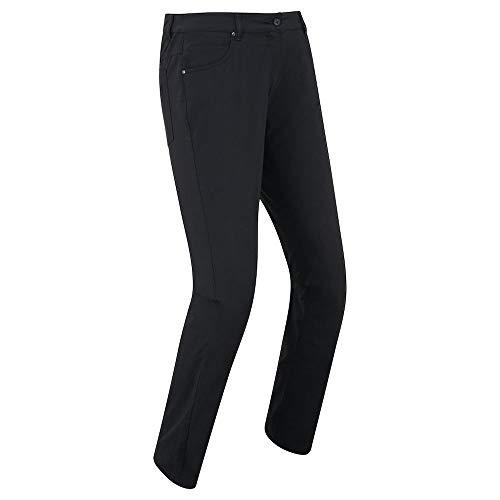 Footjoy 94187S-LNG Pantalon de Golf pour Femme Noir Taille S