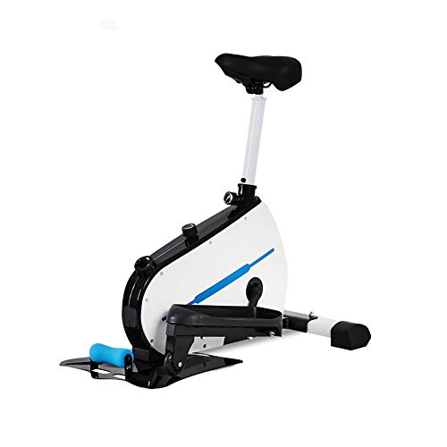 ZHAB Elliptical Trainer Magnetic, Exercise Bike Cross Trainer Machines For Health & Fitness In Everyday Life And At Home Hometrainer Movement In The Office Under Every Desk