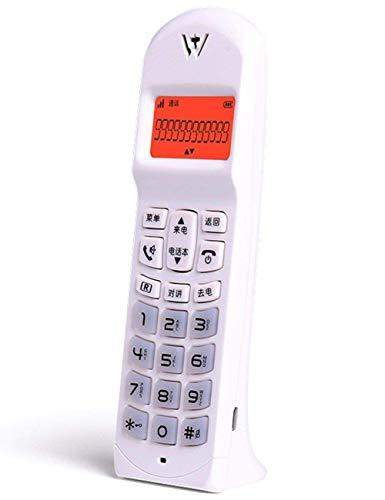 DIHAO Teléfono Fijo Retro con botón de Montaje en la Pared Cable Rizado, Timbre auténtico Opcional a Prueba de Humedad
