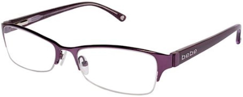 Bebe Eyeglasses BB5010 001 Amethyst 53MM