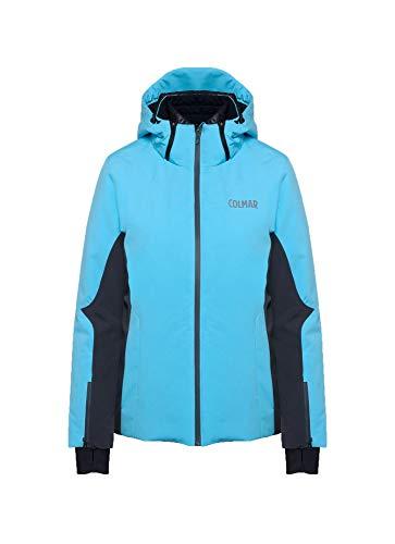 COLMAR W Meribel Ski Jacket blauw-grijs, dames jas, maat 48 - kleur waterval - Eclipse