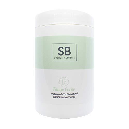 Seta Beauty Fango Corpo Ritenzione Idrica da 1000 ml con Estratto di Edera Biologica, Olio Essenziale di Rosmarino e Caffeina...