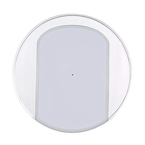Walmeck WiFi-IR Remote IR Control Hub Wi-Fi (2.4Ghz) Controlador remoto universal por infrarrojos habilitado para aire acondicionado TV DVD Usando la aplicación Tuya Smart Life Compatible con Alexa Go