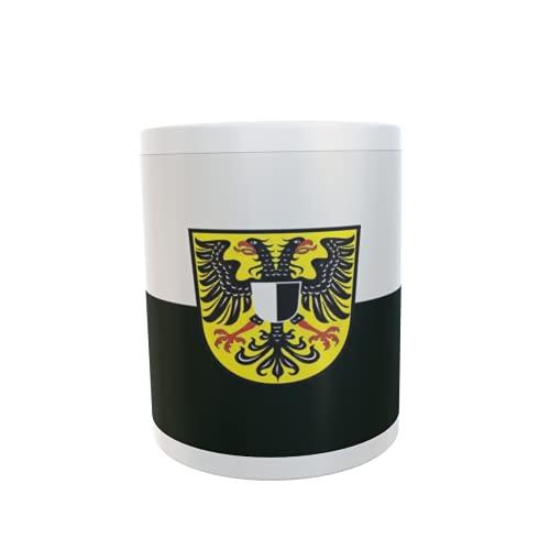 U24 Tasse Kaffeebecher Mug Cup Flagge Friedberg (Hessen)