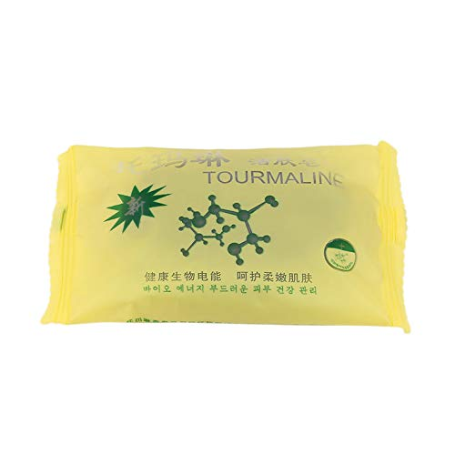 Known Tourmaline Bamboo Active Energy Soap Charcoal Energy Soap Concentrated Sulfur Soap Face & Body Beauty Healthy
