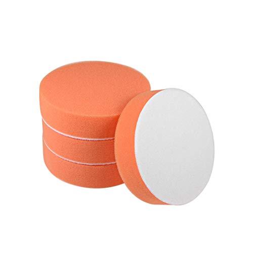 Taladro de espuma de 4 pulgadas, almohadillas de esponja para pulir, pulir, encerar, sellar, esmalte 4 piezas