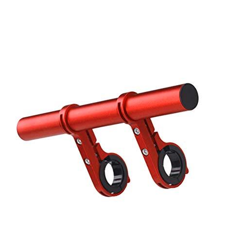 JPOJPO Extensor de manillar de bicicleta de extensi/ón de fibra de carbono soporte de aleaci/ón de aluminio abrazadera para bicicleta veloc/ímetro faro luz titular de la l/ámpara