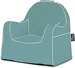 P'Kolino PKFFLRSWF Little Reader Toddler Waterfall Blue Children's Chair One Size
