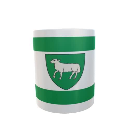 U24 Tasse Kaffeebecher Mug Cup Flagge Schöppingen