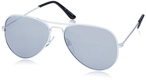 JACK & JONES Herren Jjsunny 2 Sunglasses Noos Sonnenbrille, Mehrfarbig (Black Detail:J4043-00), (Herstellergröße: ONE Size)