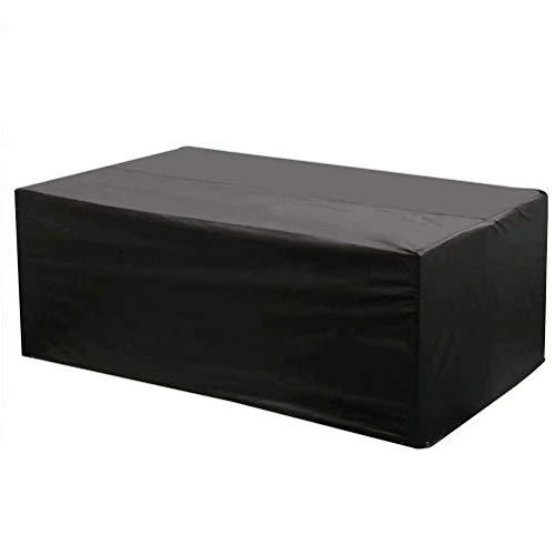 WTXDDQ Funda para Muebles de Jardín,Copertura Impermeable para Mesas Rectangular,Cubierta de Exterior Funda Protectora...
