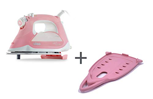 Oliso Pro TG1600 Smart Iron with iTouch Technology, 1800 Watts (Pink w/Solemate)