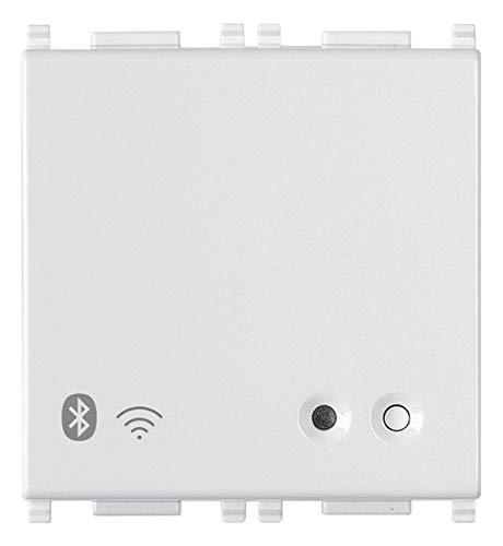 Vimar 14597 Plana Gateway connesso IoT Bluetooth Wi-Fi per integrazione, configurazione, supervisione di VIEW Wireless, mediante Cloud e App, 2 moduli
