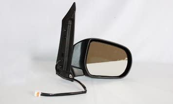 02 03 04 05 06 Mazda MPV Van Passengers Side View Power Mirror Textured Assembly
