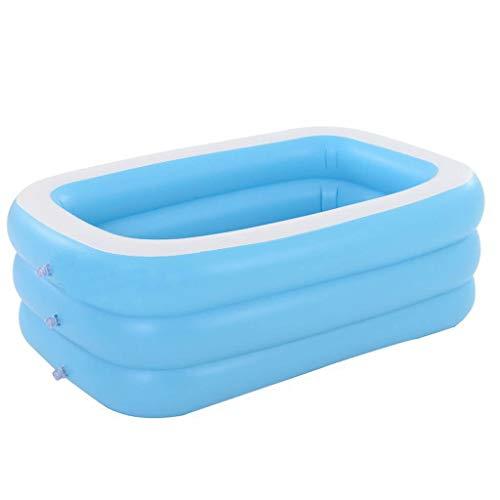 JYWJDH Familia de natación plaza rectangular piscina