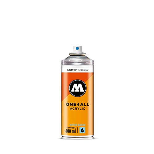 ONE4ALL SPRAY #239 Klarlack glanz MOLOTOW 400ml Acrylfarbe wasserbasis Kompatibel mit ONE4ALL Acrylmarkern