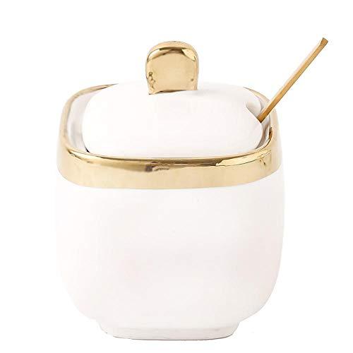 Teller Nordic Light Weiß Phnom Penh Zuckerdose Gewürzglas Keramik Salz/Gewürzglas Blume Obst Teeglas Werkzeuge 1Pcs