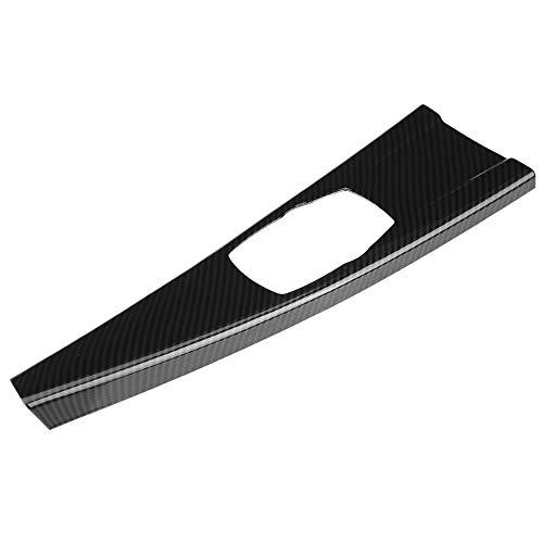 Hermoso Panel de Fibra de Carbono Multimedia-Panel-Cubierta ABS Interior Multimedia Ajuste de la Cubierta Radian diseño Adecuado for BMW 3 F30 F34 F33 F36 2013-2017