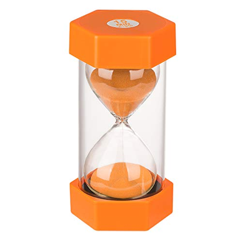 KSMA Sand Timer 15 Minutes Hourglass Timer,Colorful Sandglass Timer...