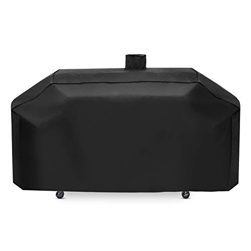 Unicook 79 Inch Smoke Hollow Grill Cover, Heavy Duty Waterproof Gas Charcoal Combo Grill Cover with Sealed Seam, Fade Resistant Outdoor Barbecue Cover, Compared to Smokey Hollow GC7000 Pit Boss