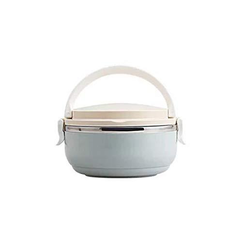 Fiambrera térmica de tamaño compacto para oficina en casa, para comida, caja Bento, fiambrera de acero inoxidable para niños, picnic portátil