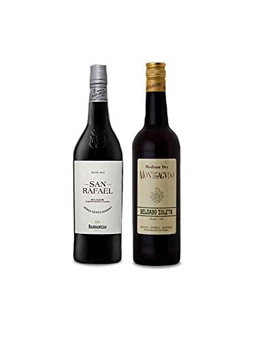 Vino Medium San Rafael de Barbadillo de 75 cl y Vino Medium Monteagudo de 75 cl - Mezclanza Exclusiva