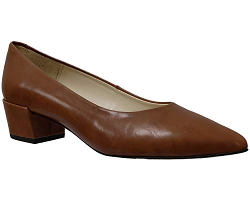 Folie's, 1@ Poncho 28406, Damen, Pumps braun, glatt, Braun - Cuero Braun - Größe: 39 EU