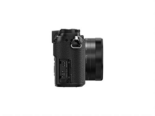 Panasonic LUMIX G DMC-GX80START Systemkamera (Set aus DMC-GX80K mit Objektiv 12-32 mm, Tasche DMW-PGH68, 16 GB SD-Karte) schwarz