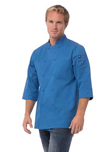 Veste manches 3/4 Chef Works - Bleu