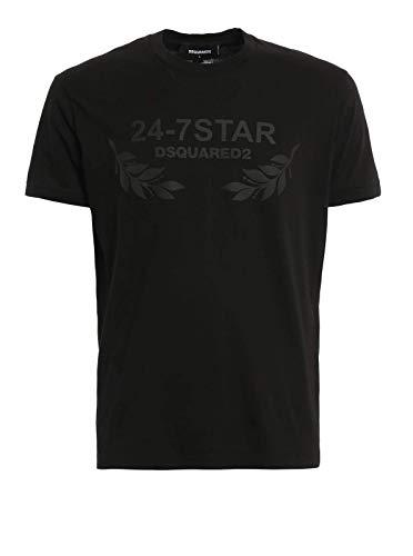Dsquared2 Dsquared   T-Shirt à Manches Courtes Dsquared - 100% Coton - Toutes Saisons Saison 2020 - Homme   Gris   XL