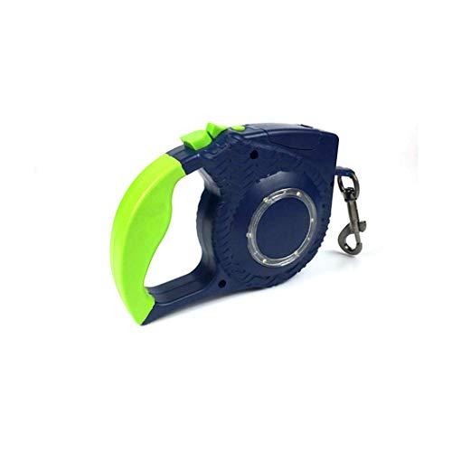 AMAZACER Pet Leash, Pet Automatische telescopische trekkabel Hond Kat LED Light reflecterende band Automatic telescopische Tractor Pet Supplies (kleur: groen) (Color : GREEN)