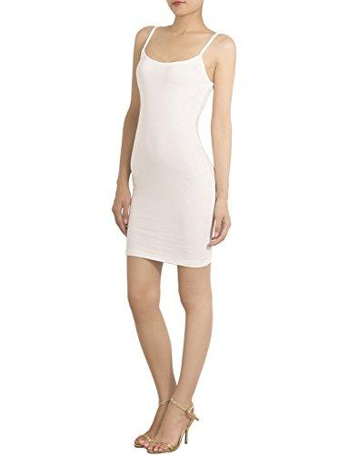 iB-iP Mujer algodón Mezcla Florista se desliza Completo Mini Vestido amoldeado al Cuerpo