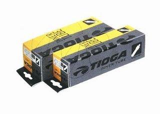タイオガ インナーチューブ 英式バルブ (イングリッシュバルブ) (自転車用チューブ) TIOGA Inner Tube (English Valve) 12-1/2x2-1/4・27mm/TIT07900