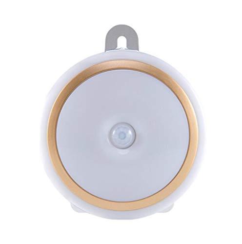 YZ-YUAN Luz De Noche La Inducción Teledirigida del Botón Grande Llevó El Ahorro De Energía Que Ahorcaba Lámpara Pegajosa, El Brillo Ajustable, La Función Inteligente De La Luz De La Memoria