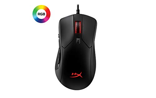 HyperX HX-MC005B Pulsefire Raid - Ergonomico - 11 pulsanti programmabili Mouse Gaming RGB