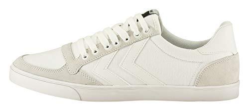 hummel Unisex Erwachsene Slimmer Stadil Tonal Low Sneaker, White, 41 EU