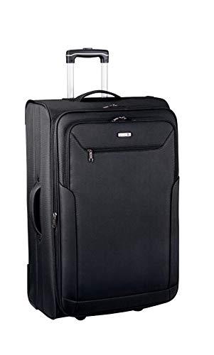 D&N Travel Line 6800 Koffer, 76 cm, 98L, schwarz